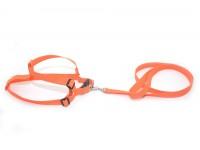 Комплект капроновий 2,0 см Лорік середній для тварин Zoo-hunt помаранчевий