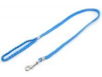 Повідок для собак Zoo-hunt капроновий ПКЛ Коса синій
