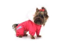 Комбінезон для собак Сільвер рожевий.