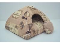 Хатка юрта для котів і собак Zoo-hunt бязь №1 39х39х31 см