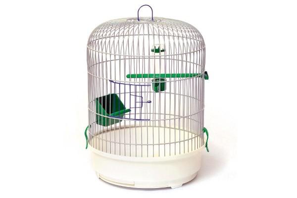 Клітка для попугая кругла Рондо фарба