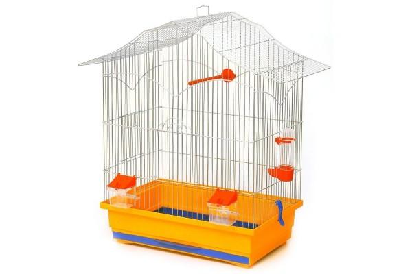 Клітка для птахів Лорі золото