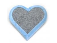 Когтеточка Драпак Zoo-hunt для кішки Валентинка блакитна 33х33 см