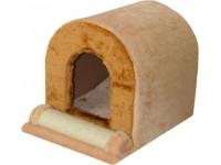 Будиночок когтеточка для кішок Zoo-hunt Тунель сезаль