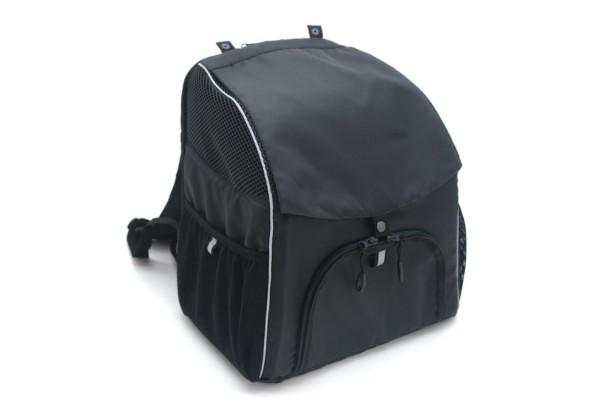 Рюкзак для перенесення котів і собак Zoo-hunt Турист №2 25 х 35 х 40 см чорний