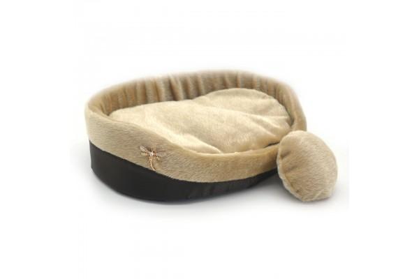 Лежак для собак і котів Zoo-hunt Хутро коричневий