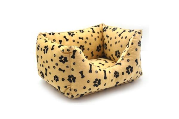 Лежак для собак і котів Zoo-hunt Лапки двосторонній