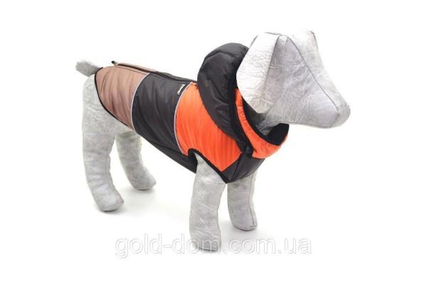 Жилет Тріо з капюшоном для собак Zoo-hunt коричневий