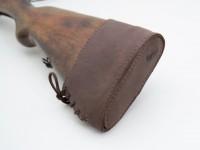 Тильник на приклад шкіра Ретро Zoo-hunt коричневий 10020/2