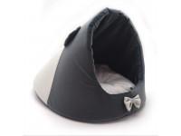 Будка для котів і собак Zoo-hunt Містик-мишка №2 38х50х36 см сіра
