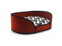 Лежак для котів і собак Олімп №2 370х490х165 мм червоний