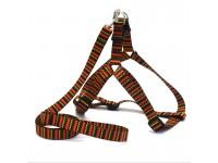 Комплект поводок та шлея для собак Zoo-hunt капронову 2,5 см В'язка