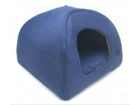 Хатка юрта для котів і собак Zoo-hunt Loft №2 41х41х37 синій
